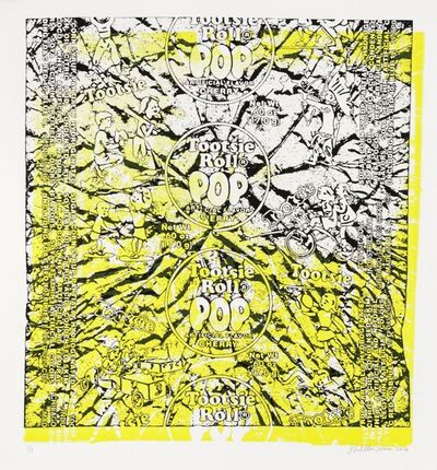 Shelter Serra, 'Tootise Pop (Yellow)', 2016