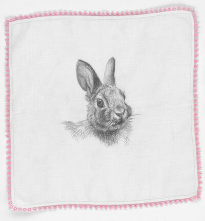 Constance Edwards Scopelitis, 'God Is In Clean Laundry: Rabbit', 2019