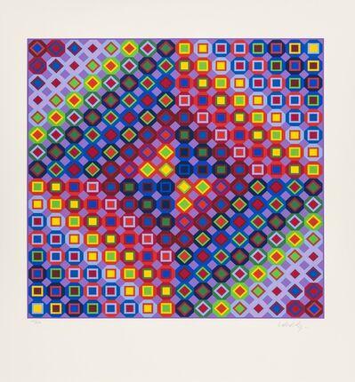 Victor Vasarely, 'Folkokta', 1988