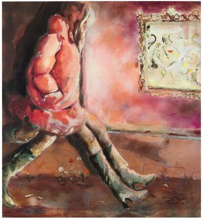 Anna Tuori, 'Peculiar Desire to Follow (Rouge de Venise, Rose Eva, Orange Indien, Caput Mortum)', 2019