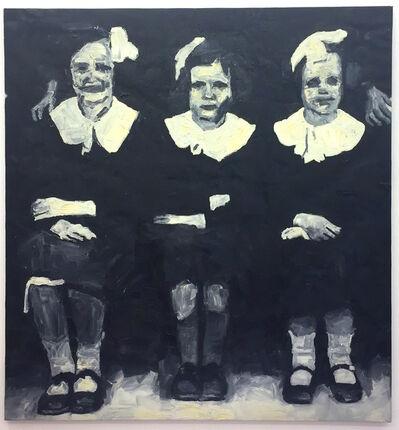 Ryan Mendoza, 'School Girls', 1999