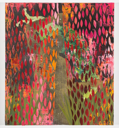 Dominic Chambers, 'Veil Curtain (Gold) ', 2019