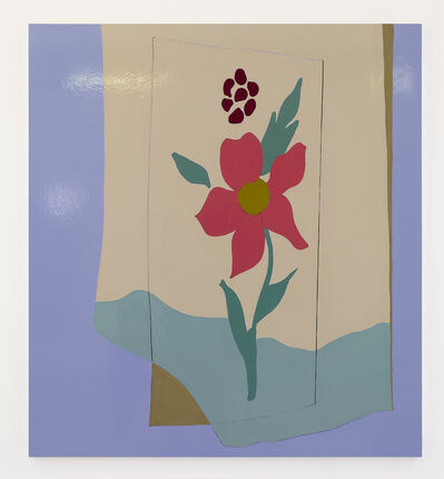 Gary Hume, 'Red Flower', 2019