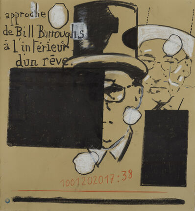 Jean-Michel Alberola, 'Approches Beat-Generation. Paris', 2020