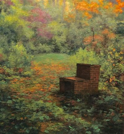 Scott Prior, 'Barbeque in Autumn', 2020