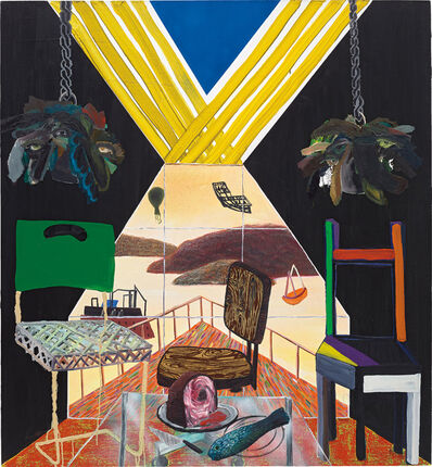 Shara Hughes, 'Three's a Crowd', 2008