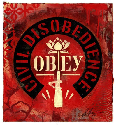 Shepard Fairey, 'CIVIL DISOBEDIENCE', 2019