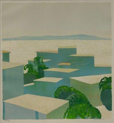 Roger Muhl, 'Maisons au bord de mer', ca. 1984