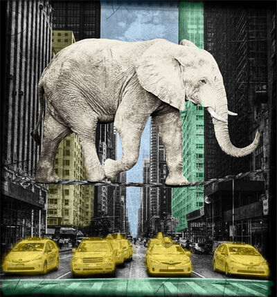Lars Tunebo, 'High in NY - White', 2016