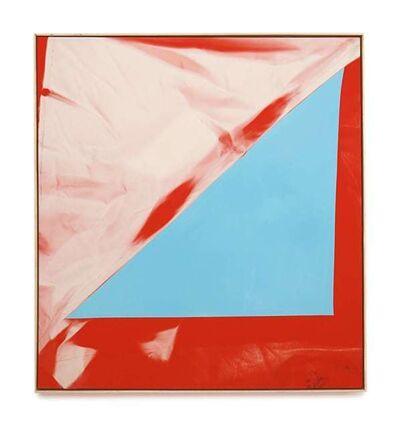Chris Duncan, 'Blue on Red', 2017