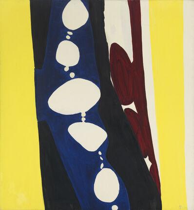 Ernst Wilhelm Nay, 'Purpur und weiße Rhythmen I', 1966