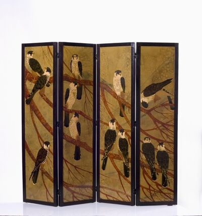 André Ducaroy, 'Four Panel Screen', ca. 1945