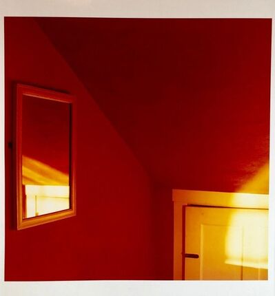 Peter C. Jones, 'Sunset in the Red Room Large Format Photo 24X20 Color Photograph Beach House RI', 2000-2009