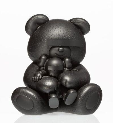KAWS, 'Undercover Bear Companion (Black)', 2009