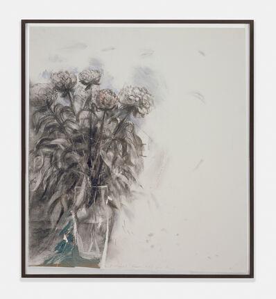 Jim Dine, 'Peonies, Summer 1991', 1991