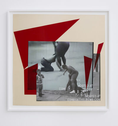 Kandis Williams, 'comegetyousome 1', 2013
