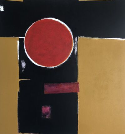 Don Lyle, 'Portrait in Red & Yellow', 2019