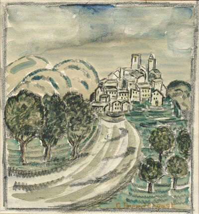 Charles Prendergast, 'Biot', 1927-1929