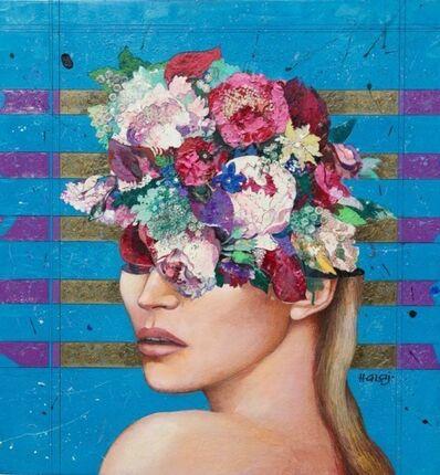 Minas Halaj, 'Floral Mind #23', 2016