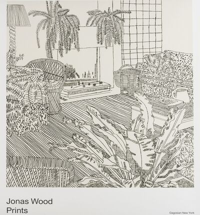 After Jonas Wood, 'Prints, Gagosian Gallery'