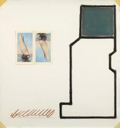 David Tremlett, 'Drawing for a wall 3, Mjimwema', 1990