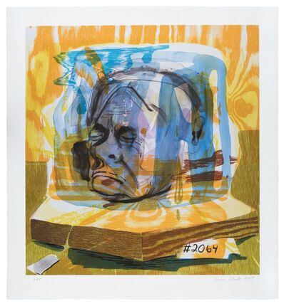 "Dana Schutz, '""Untitled (Head of Timothy Leary)"" for Parkett 75', 2005"