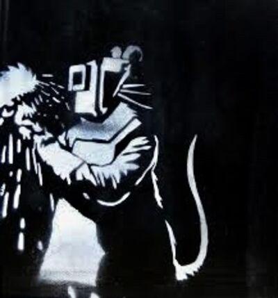 Banksy, 'Welder rat', ca. 2008