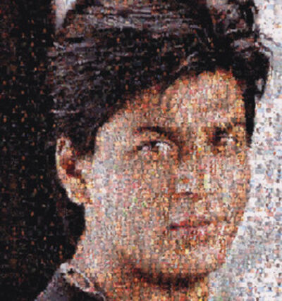 Rashid Rana, 'Ommatidia III (Shahrukh Khan)'