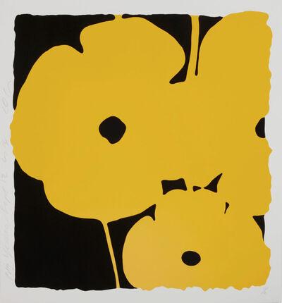 Donald Sultan, 'Donald Sultan, Big Yellow, Sept. 12, 2014', 2014