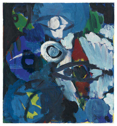 Ernst Wilhelm Nay, 'Morningstar', 1963