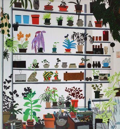 Jonas Wood, 'Large Shelf Still Life,', 2017