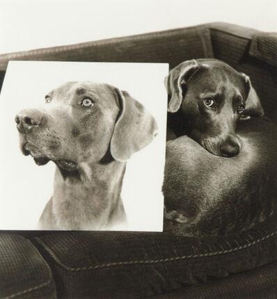 William Wegman, 'Double Portrait (From Man Ray: A portfolio of 10 Photographs)', 1982