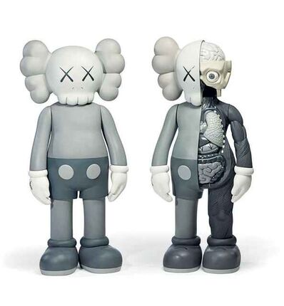 KAWS, 'Companion Grey 2 sets', 2017