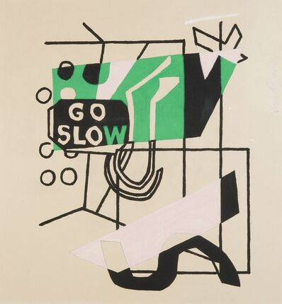 Stuart Davis, 'Study for 'Combination Concrete' No. 1', 1956