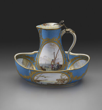 Sèvres Porcelain Manufactory, 'Water Jug and Basin', 1781