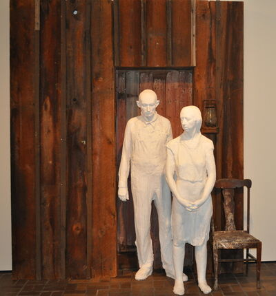 George Segal, 'Appalachian Farm Couple 1936', 1978