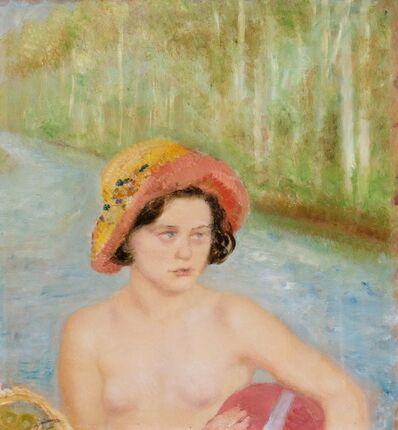 Arturo Dazzi, 'Bagnante con cappellino', 1932