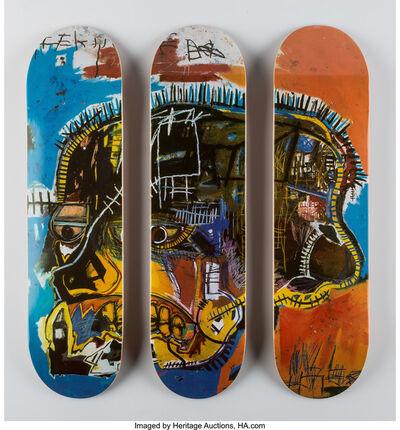 Jean-Michel Basquiat, 'Skull, triptych (Open Edition)', 2016