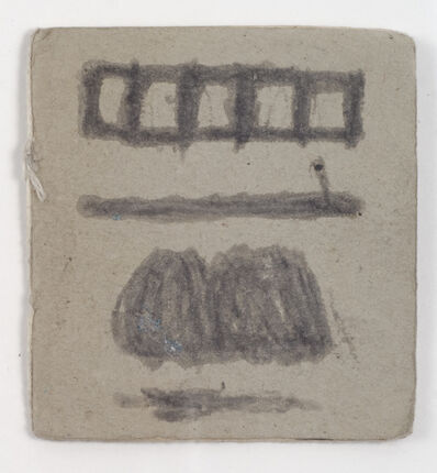 James Castle, 'Untitled (Cartoon book)', n.d.