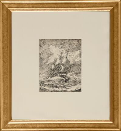 Edward Hopper, 'Gallion in a Storm', ca. 1900