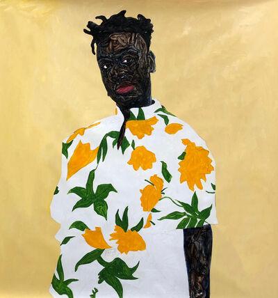 Amoako Boafo, 'Sunflower Shirt', 2019