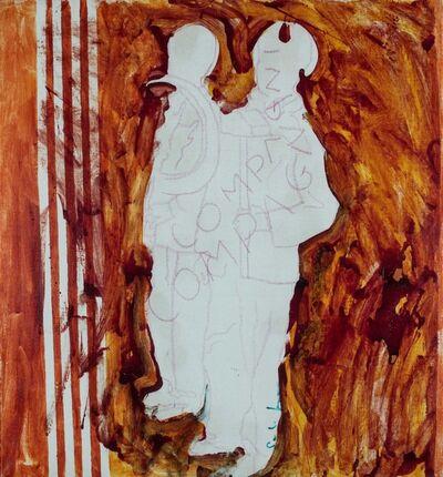 Mario Schifano, 'Compagni compagni', 1979