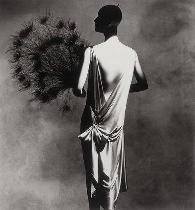 Irving Penn, 'Vionnet Dress with Fan', 1974