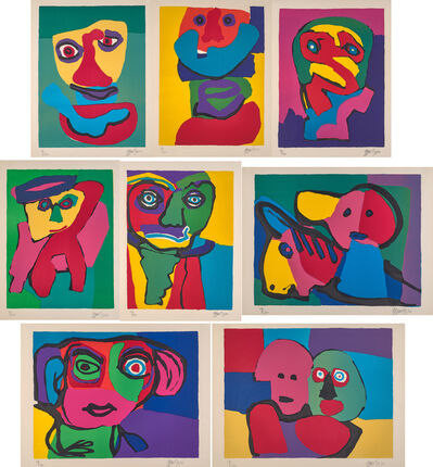 Karel Appel, 'Personages '70', 1970