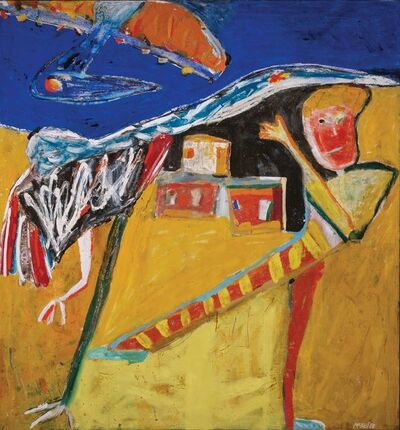 George McNeil, 'Shaman and Magic Birds', 1980