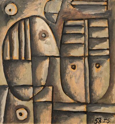José Gurvich, 'Cabeza de Hombre', 1958