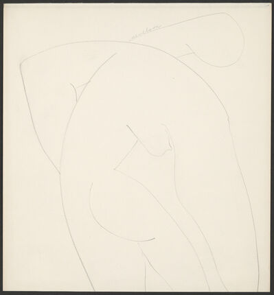 Louise Nevelson, 'Nude', 1935