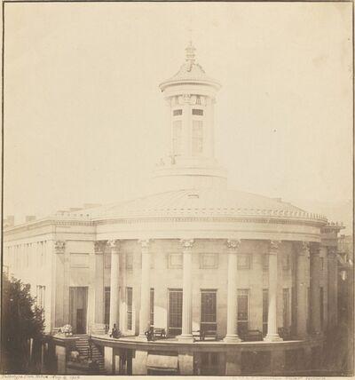 Frederick and William Langenheim, 'Merchant's Exchange, Philadelphia', August 16-1849