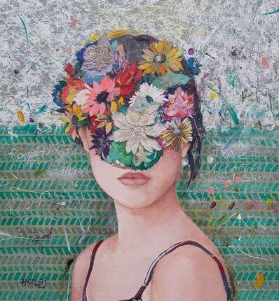 Minas Halaj, 'Floral Mind #19'