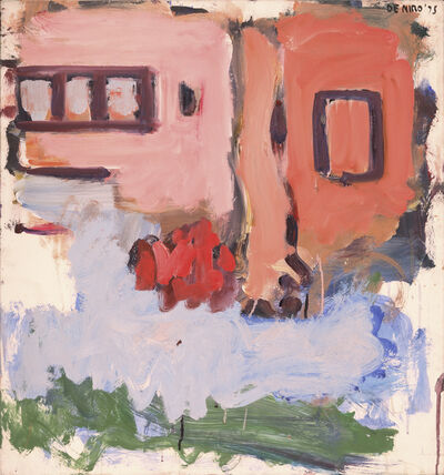 Robert De Niro, Sr, 'Pink and Salmon Houses', 1975
